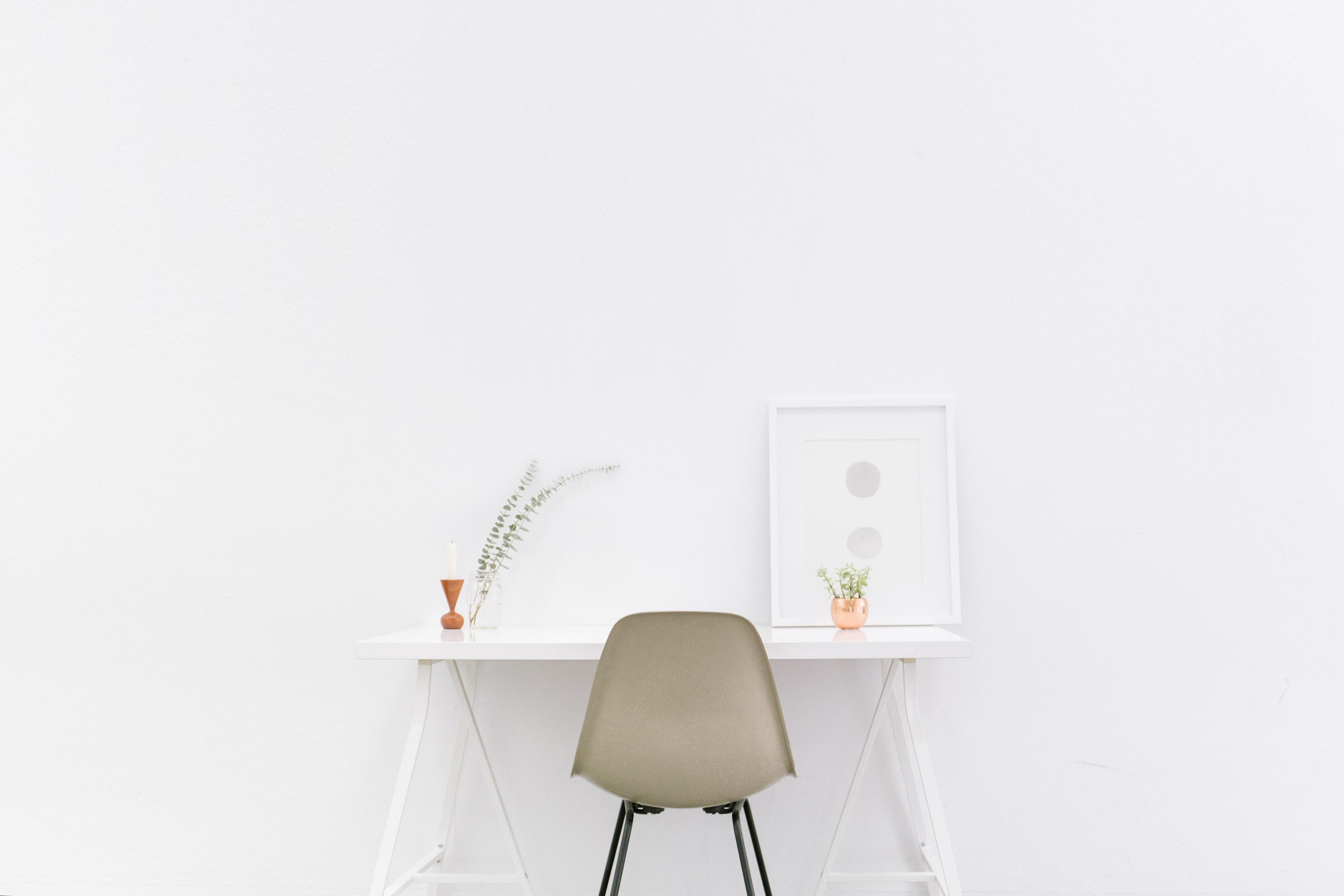 homeoffice minimalist